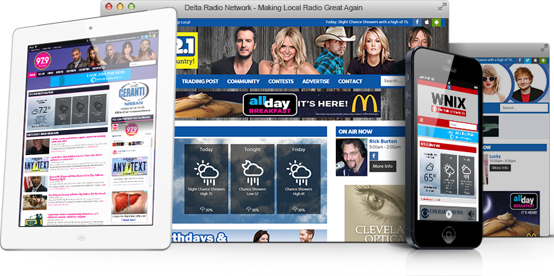 Delta Radio Digital Ads
